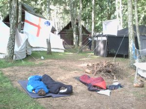 Wölflinge im Lager